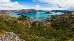 A spectacular view of Lyttelton Harbour is on offer walking from Cavendish Saddle to the Mt Pleasant gun emplacements.