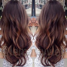 17 Ideas for Balayage Brunette Caramel Haircolor