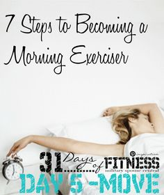 Jump start that am workout! Working out in the am guarantees you a carved out period of time just for you before the stresses of your work day derail your best intentions. But getting into a morning workout routine can be tricky. Read this article to make it a reality!! Great read and motivator.