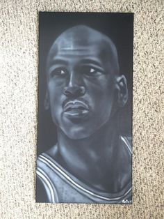 eef7d9ad6e4 Fan art Michael Jordan by HobbyOfTheMonth on Etsy