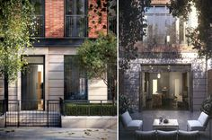 Pricey Greenwich Lane Townhouses Officially Hit the Market - Development Update-O-Rama - Curbed NY