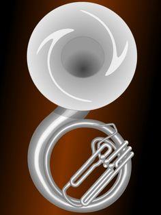 Silver Sousaphone