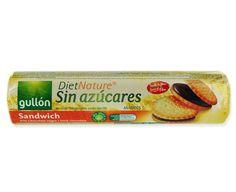 Galletas Sandwich DietNature sin azúcares Gullón (Mercadona) - 1 unidad 1,5 puntos
