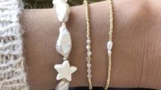 Cosmic Girls, Sugar And Spice, Pearl Necklace, Bling, Pearls, Cream, Zodiac Signs, Jewelry, Clouds