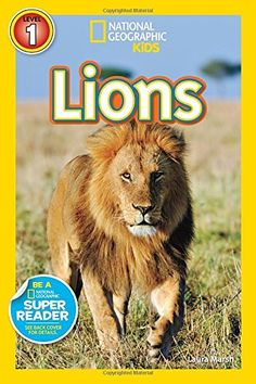 National Geographic Readers: Lions Price:$3.99