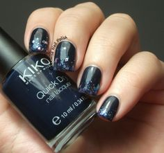 The Clockwise Nail Polish: Kiko 839 Blu Ottanio & Lynnderella Magic Fairy Stars