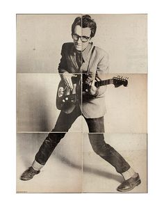 Elvis Costello. My aim is true stance