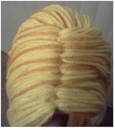 DIY Project Crazy: DIY Rapunzel Yarn wig