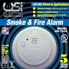 Special Offers - Universal Security Instruments 1204 Wire-In Smoke Alarm with Battery Backup (6 Pack) - In stock & Free Shipping. You can save more money! Check It (June 18 2016 at 09:37PM) >> http://wpcamera.net/universal-security-instruments-1204-wire-in-smoke-alarm-with-battery-backup-6-pack/