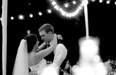 First dance fall wedding husband wife