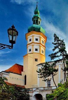 Mikulov castle (South Moravia), Czechia #castle #Czechia