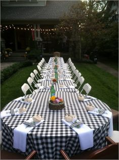 45 Ideas Backyard Wedding Reception Ideas Dinners For 2019 Summer Backyard Parties, Backyard Bbq, Outdoor Parties, Wedding Backyard, Indoor Wedding, Backyard Engagement Parties, Backyard Bridal Showers, Party Summer, Rehearsal Dinner Decorations