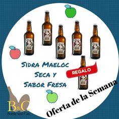 ¡¡ NUEVA OFERTA DE LA SEMANA !! La OFERTA comprende 3 Botellas de Sidra MAELOC SECA Sin gluten, 50 cl. cada una + 2 Botellas de Sidra MAELOC FRESA, Sin gluten, 50 cl. cada una + REGALO 1 Botella de Sidra MAELOC FRESA Sin gluten, 50 cl.  http://tienda.bottleandcan.es/es/  Válida hasta el Domingo 09/04/2017 o hasta Fin de Existencias.    #Tiendaonline #gourmet #bottleandcan #Granada #andalucia #españa #spain #oferta #regalo