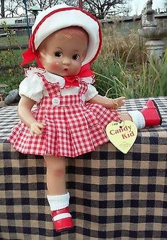 "Effanbee Adorable 13"" Patsty Doll with Extra Clothes"