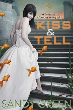 Cover reveal! My new YA novella, KISS AND TELL!   With the help of enchanted lip gloss, a sixteen-year-old girl discovers her connection to an ancient magical sisterhood that reveals the truth about her past and equips her for the future.  Available from Buzz Books USA Buzz Teen in Feb. 2014!