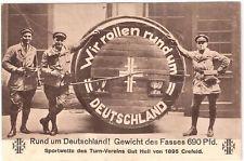 Crefeld Krefeld Sportwette d. Turn-Vereins roll. Fass um 1930 R