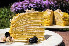 un pedacito de cielo: Tarta de Crêpes de Lemon Curd y Arándanos azules