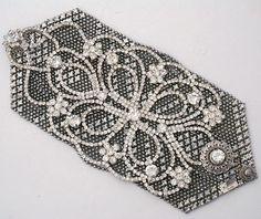 Margaret Rowe Jewelry | Vintage Gatsby Garden Cuff