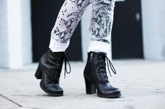 Eugenie Grey from Feral Creature in Shoe Cult Camden Bootie (http://www.nastygal.com/product/shoe-cult-camden-bootie)