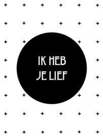 I love you in Dutch