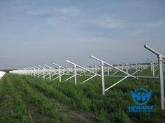 Hiwant aluminium profiles for solar panels dedicated frame, solar stands and various solar accessories.