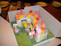 Pony Stable Cake