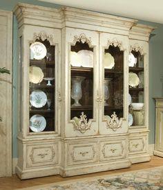 Habersham china display / China Cabinet