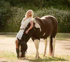 a horse and his girl (Sabrina) Diane Lauren Photography