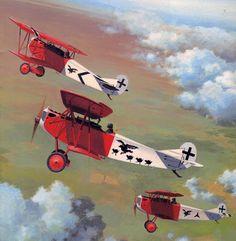 Royal Prussian Jagdstaffeln, 'Jasta 18' in action 1916-1917