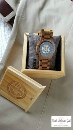 Hand-crafted wood timepieces. Read my JORD Wood Watch Review #AD