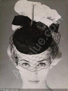 chapeaux à voilette .