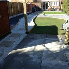 Just finished landscaping my garden just the pergola to finish Four Square, Derby, Pergola, Landscaping, Sidewalk, It Is Finished, Shape, Garden, Garten