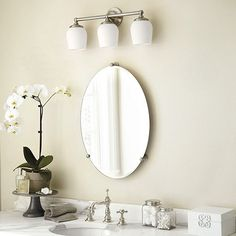 Valencia Oval Bath Mirror