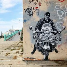 by Jef Aerosol in Brighton, UK, 2017 (LP) 3d Art, Chalk Art, Graffiti, Art Provocations, Art, Street Gallery, Street Art Graffiti, Art Icon, Unusual Art
