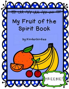 Help your students get practical ideas on how to apply the Fruit of the Spirit to their lives with this engaging printable book.  Students can also brainstorm their own idea on how to show a Fruit of the Spirit on the last page. I hope you and your kiddos enjoy!