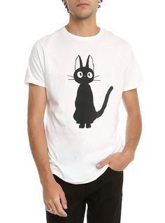 ****MD**** Kiki's Delivery Service Jiji T-Shirt, WHITE