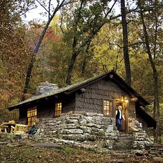 cozy cabin in the Smoky Mountains of Tennessee