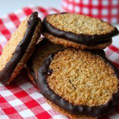 Havreflarn Double Chocolate Crisps @keyingredient #chocolate