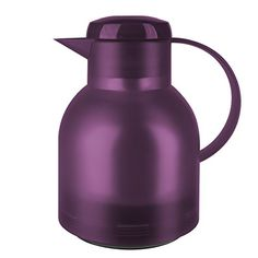 Emsa  Samba Quick Press Insulated Server 34Ounce Translucent Eggplant ** Continue to the product at the image link.Note:It is affiliate link to Amazon. #followall
