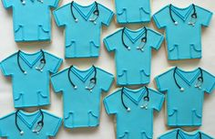 Hey, I found this really awesome Etsy listing at https://www.etsy.com/listing/170785065/doctor-or-nurse-blue-scrubs-cookies