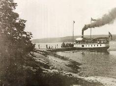 Glemt: D/S Fønix er ofte glemt i historien om trafikken på Bunnefjorden, blant annet til Nesset som den trafikkerte fra 1894 til 1904.