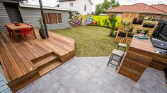 Exteriors Reveal: VIC Backyard - Photos - House Rules - Official site