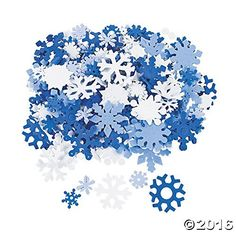"""Clear Snowflake Plastic Tablecloth 108"""" x 54"""""""