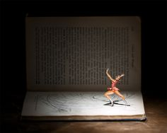Vintage Book Characters Come Alive in Intriguing Dioramas by Thomas Allen - My Modern Met Thomas Allen, Art Thomas, Old Encyclopedias, Libros Pop-up, Cut Out Art, 3d Art, Pop Up Art, Altered Book Art, Imagines
