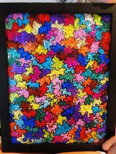 Aluminum foil art!!! http://www.exclusivepackagingny.com/