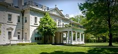 Older building on the campus Bard College, Mansions, House Styles, Building, Home Decor, Decoration Home, Manor Houses, Room Decor, Villas