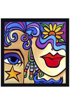Tom Fedro Star Crossed, Framed Canvas Print - Beyond the Rack