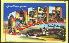 Carmel, CA  Love this place