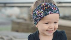 Tribal Print Headwrap  One Size Fits All by LucillePaige
