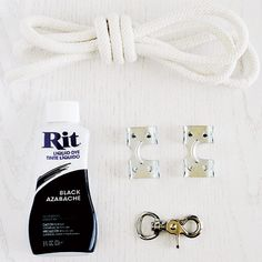 DIY Craft - Dip-Dyed Ombre Leash   Modern Dog magazine Need to make this!!!!!!!!